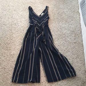 Universal Thread striped jumpsuit